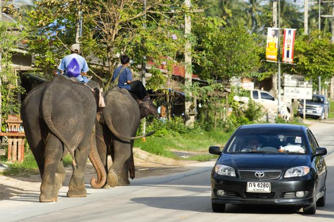 Aluguel de carro na Tailândia em Bangkok