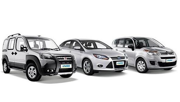 Modelos de carros para alugar