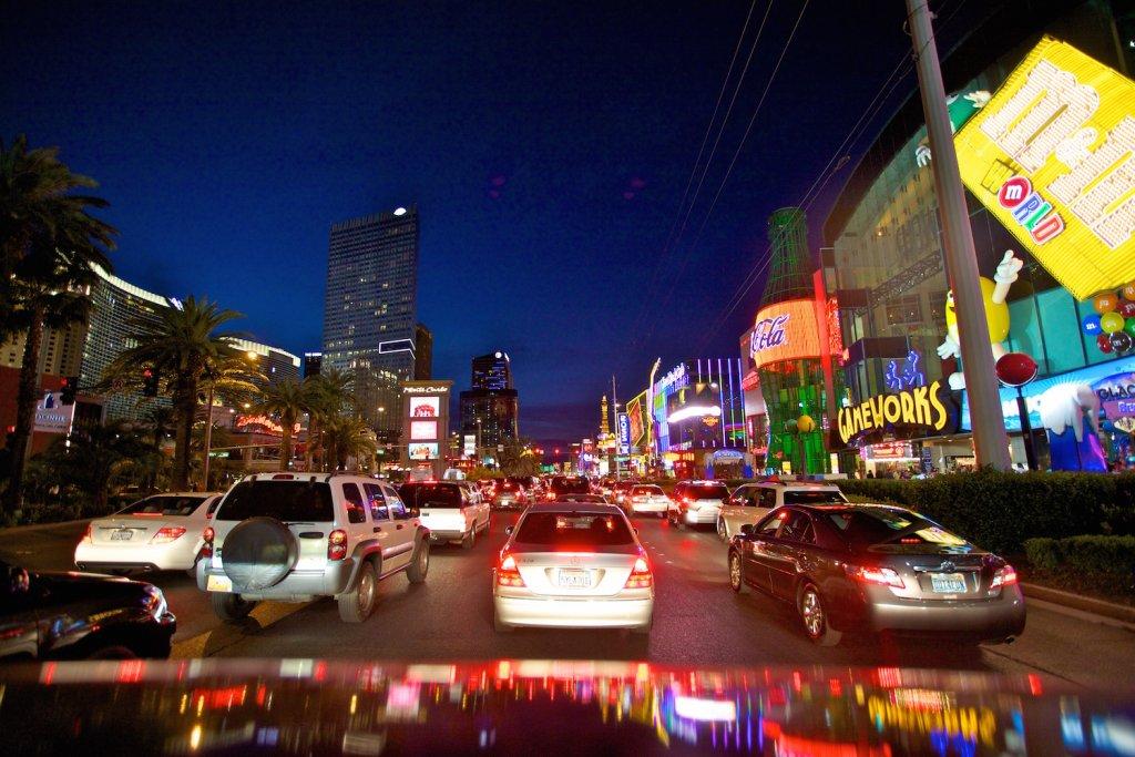 Aluguel de carro em Las Vegas