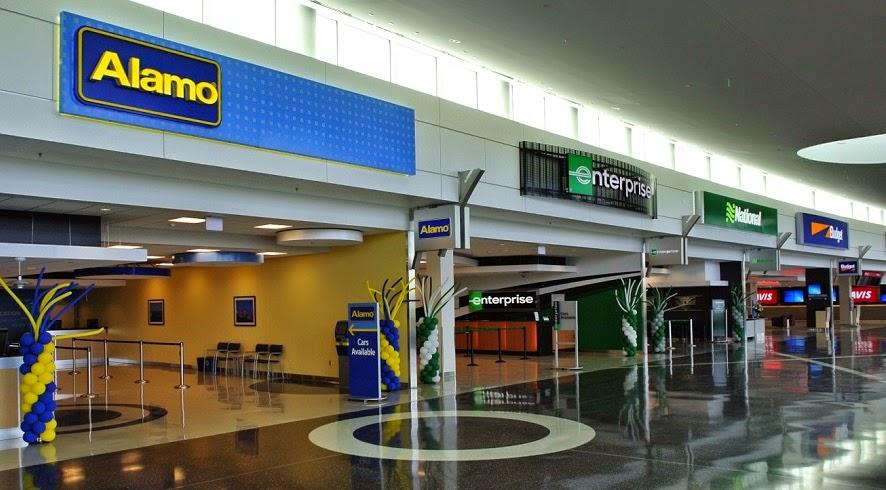 Locadoras de carro no Aeroporto de Dallas Fort Worth